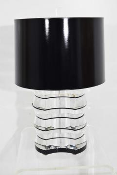 Karl Springer Lucite and Acrylic Table Lamp by Clear Lite - 1456344