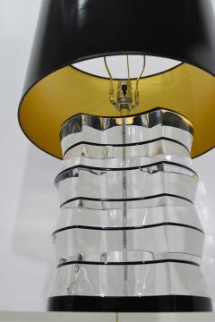 Karl Springer Lucite and Acrylic Table Lamp by Clear Lite - 1456346