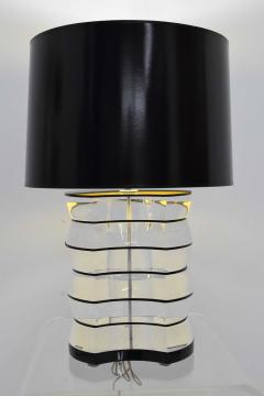 Karl Springer Lucite and Acrylic Table Lamp by Clear Lite - 1456355