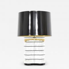 Karl Springer Lucite and Acrylic Table Lamp by Clear Lite - 1457397