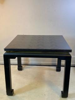 Karl Springer MODERNIST KARL SPRINGER STYLE FAUX LIZARD GAME DINING TABLE - 1801123