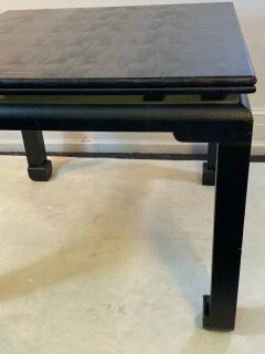 Karl Springer MODERNIST KARL SPRINGER STYLE FAUX LIZARD GAME DINING TABLE - 1801124