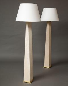Karl Springer Pair of JMF Floor Lamps - 970931