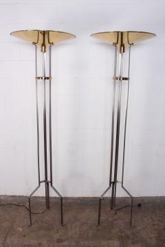 Karl Springer Pair of Touchier Floor Lamps - 865679