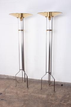 Karl Springer Pair of Touchier Floor Lamps - 865680