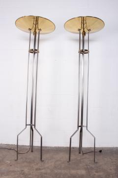 Karl Springer Pair of Touchier Floor Lamps - 865685