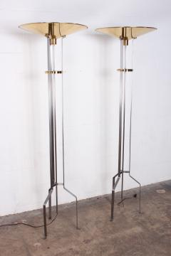 Karl Springer Pair of Touchier Floor Lamps - 865687