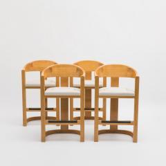 Karl Springer Set of Four Jackie O Barstools - 672439