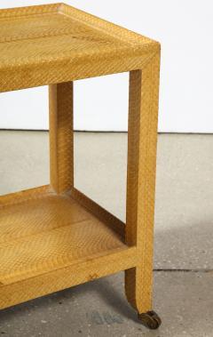 Karl Springer Snake Skin Table by Karl Springer - 1175439