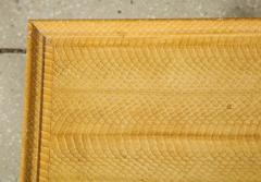 Karl Springer Snake Skin Table by Karl Springer - 1175444
