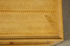Karl Springer Snake Skin Table by Karl Springer - 1175445