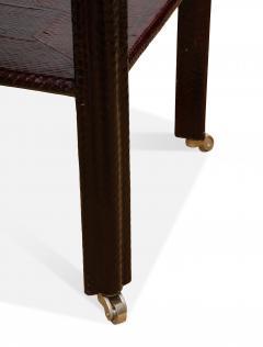 Karl Springer Snake Skin Table by Karl Springer - 1179057