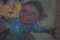 Karnig Nalbandian Blue Doll Oil on Canvas 1953 - 619847