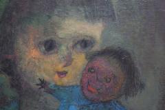 Karnig Nalbandian Blue Doll Oil on Canvas 1953 - 619850