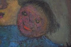 Karnig Nalbandian Blue Doll Oil on Canvas 1953 - 619854