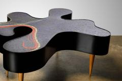 Katharina Welper One of a Kind Contemporary Mosaic Low Table by Katharina Welper Brazil 2014 - 1590356