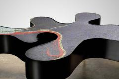 Katharina Welper One of a Kind Contemporary Mosaic Low Table by Katharina Welper Brazil 2014 - 1590357