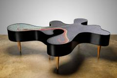 Katharina Welper One of a Kind Contemporary Mosaic Low Table by Katharina Welper Brazil 2014 - 1590358