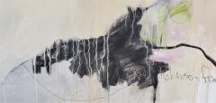 Kathi Robinson Frank Buddhas Breakfast 2021 Large Abstract Oil On Canvas by Kathi Robinson Frank - 1961814