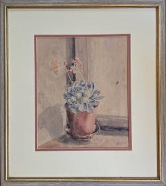 Kathleen Kay L Talbot Pink Bellflowers  - 1939860