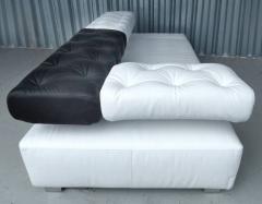 Kati Meyer Br hl Adjustable Sunrise Two Fine Leather Sofa Daybed by Br hl Bruehl of Germany - 1122278
