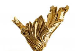 Katz Studio Levitaz Flora Vase Polished Bronze - 1507562