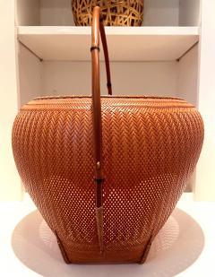 Kawano Shoko Contemporary Japanese Bamboo Basket Kawano Shoko - 1767271