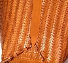 Kawano Shoko Contemporary Japanese Bamboo Basket Kawano Shoko - 1767279