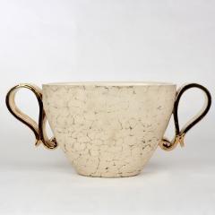 Kaza Ceramic and Gilt Vase Circa 1930 - 1166568