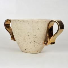 Kaza Ceramic and Gilt Vase Circa 1930 - 1166569