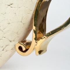 Kaza Ceramic and Gilt Vase Circa 1930 - 1166572