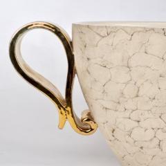 Kaza Ceramic and Gilt Vase Circa 1930 - 1166574