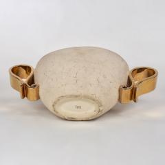 Kaza Ceramic and Gilt Vase Circa 1930 - 1166576
