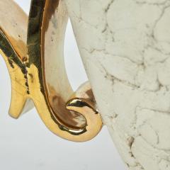 Kaza Ceramic and Gilt Vase Circa 1930 - 1166578