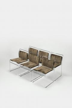 Kazuhide Takahama Kazuhide Takahama Set of 6 chairs model Tulu 1969 Italy - 2016352