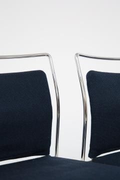 Kazuhide Takahama Set of Four Steel and Cotton Chairs by Kazuhide Takahama - 2067010