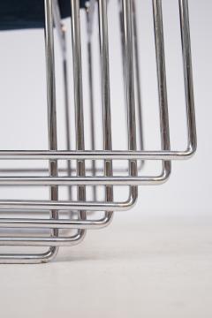 Kazuhide Takahama Set of Twelve Steel and Cotton Chairs by Kazuhide Takahama - 2077027