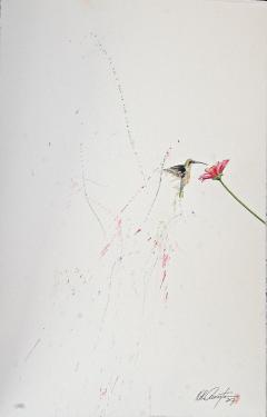 Keith Carrington Hummingbird XIII Ink on Paper - 1062806