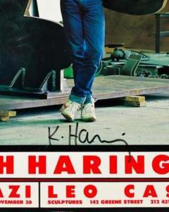 Keith Haring Keith Haring Ivan Dalla Tana Keith Haring or Tony Poster - 1661484