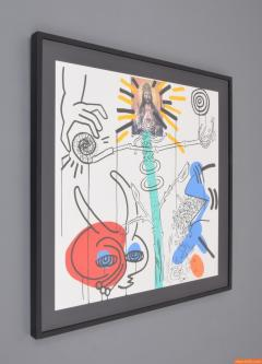 Keith Haring Large Keith Haring Apocalypse X Silkscreen Signed - 286044