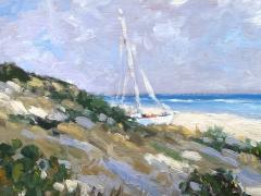 Keith Oehmig Seaside Light  - 1729915