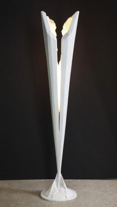 Kelly Kiefer Sculptural Torchiere - 1978244