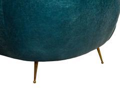Kelly Wearstler Kelly Wearstler Modern Leather Settee Sofa - 1550699