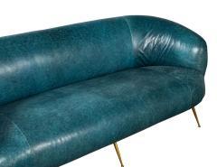 Kelly Wearstler Kelly Wearstler Modern Leather Settee Sofa - 1550703
