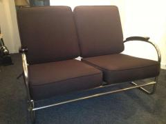Kem Weber Kem Weber for Lloyd Art Deco Love Seat - 83504