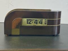 Kem Weber MODERNIST STREAMLINE ART DECO CLOCK ZEPHYR BY KEM WEBER - 1963606