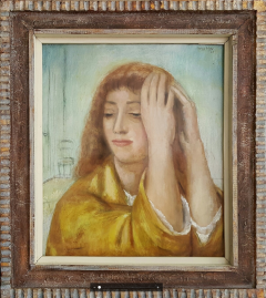 Kenneth Hayes Miller Portrait of a Woman lost in Thought - 1208793