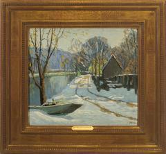 Kenneth R Nunamaker Winter Morning Along the Towpath - 696456