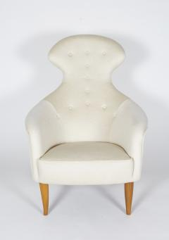 Kerstin H rlin Holmquist Big Eva Lounge Chair and Ottoman - 197477