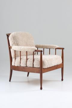 Kerstin H rlin Holmquist Pair of Swedish Lounge Chairs Skrindan by Kerstin H rlin Holmquist for OPE - 1143487